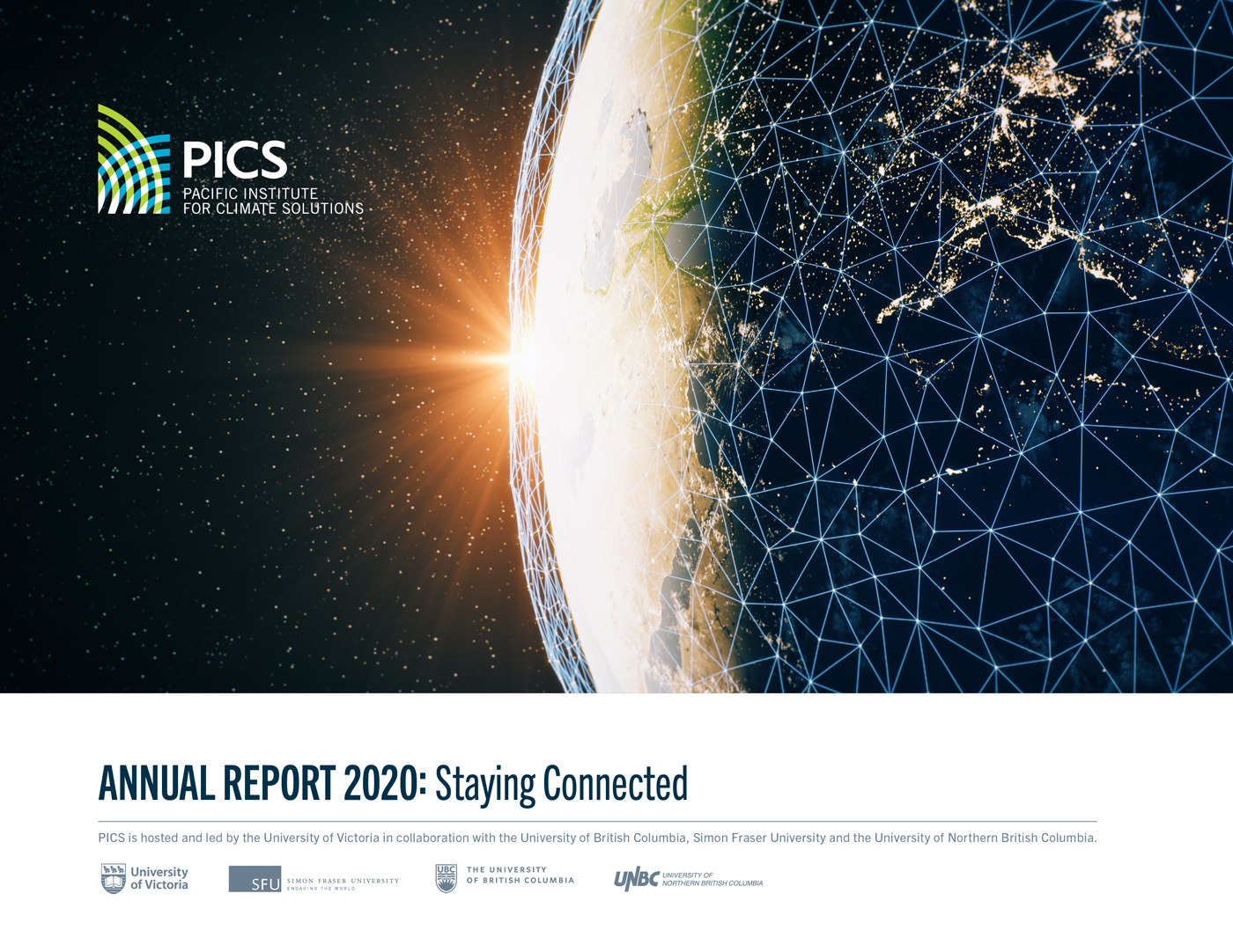 Cover of PICS Annual Report 2020
