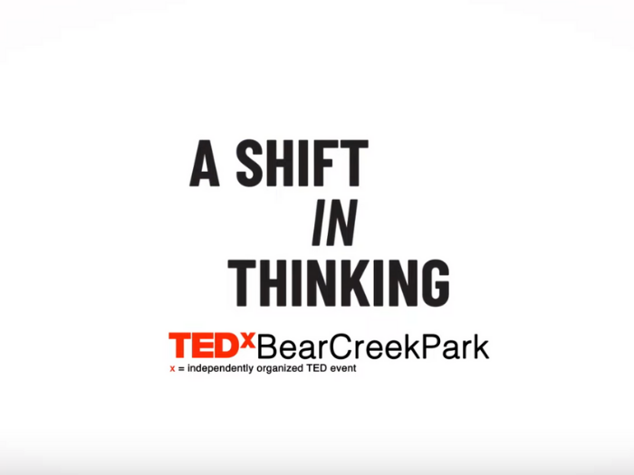 TedX A Shift in Thinking