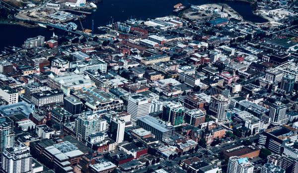 Flick Victoria BC aerial: Credit: Andy S. (2014)