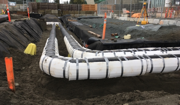 CIty of Surrey pipe network expansion project