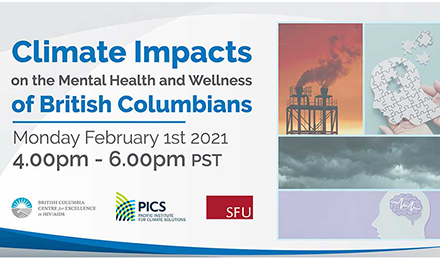 Climate Impacts on the Mental Health and Wellness of British Columbians