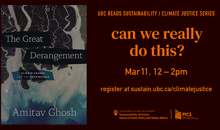 UBC Climate Justice Series