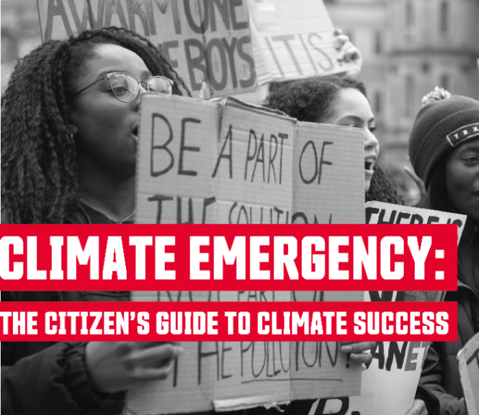 Simon Fraser University presents Climate Emergency: The Citizen's Guide to Climate Success, a PICS sponsored event.